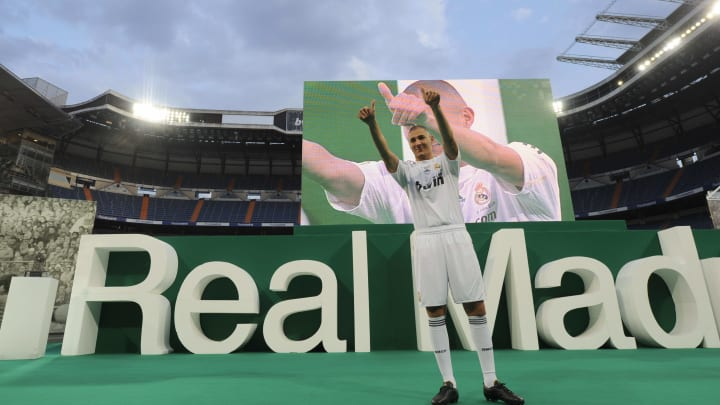 Real Madrid's new football player French