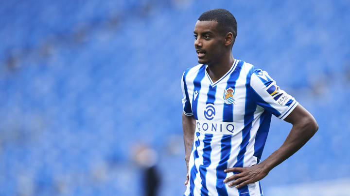 Barcelona are keen on Alexander Isak