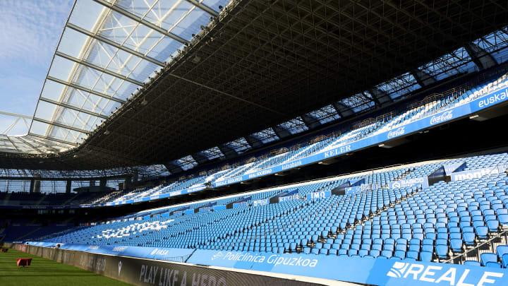 Ist das Stadion von Real Sociedad bald wieder voll?