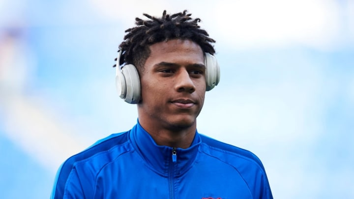 Jean-Clair Todibo has only made five appearances for Barcelona since joining in 2019