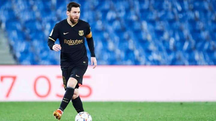 Lionel Messi Barcelona Ronald Koeman