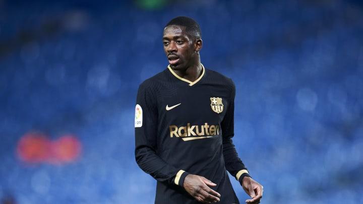 Ousmane Dembele soll die Zukunft bei Barca gehören