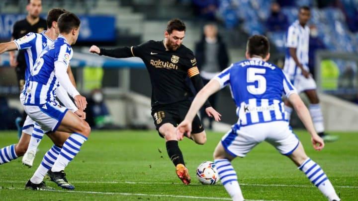 Lionel Messi Barcelona Real Sociedad LaLiga