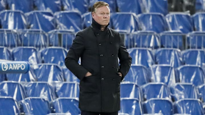 Ronald Koeman is concerned about Lionel Messi's future