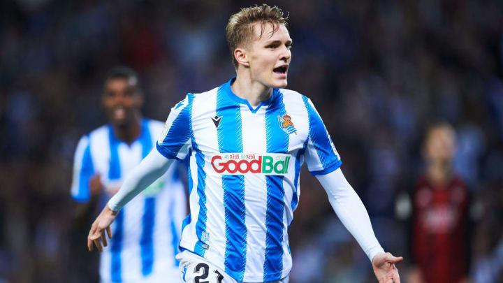 Ödegaard spielte sich bei San Sebastian in den Fokus.