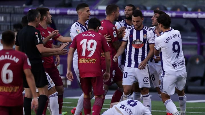 Matheus Fernandes, Joaquin Fernandez Moreno, Joselu, Raul Garcia, Enes Unal