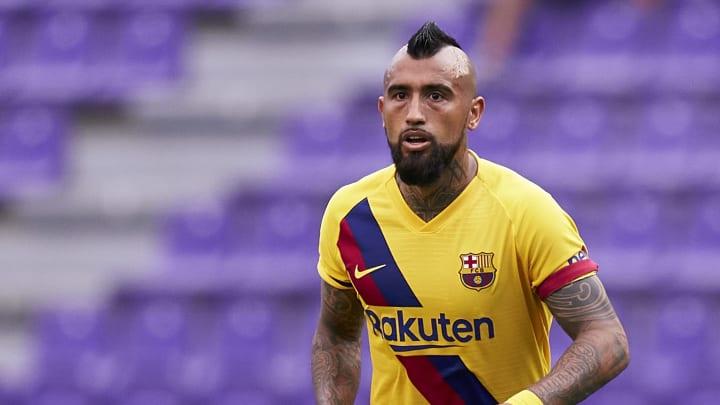 Arturo Vidal carga duramente contra el FC Barcelona