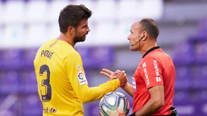 Gerard Pique, Antonio Mateu Lahoz