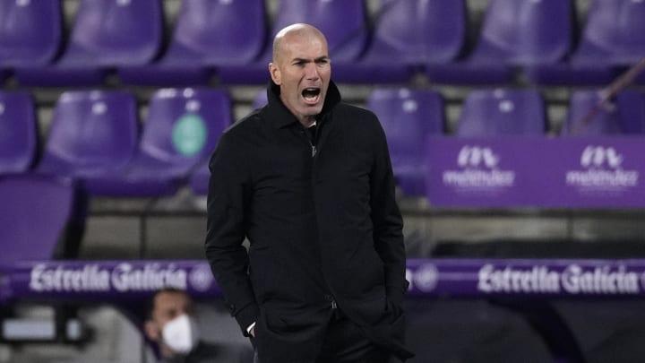 Zinedine Zidane has an injury-hit squad
