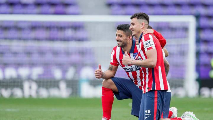 Jose Maria Gimenez, Lucas Torreira, Luis Suarez