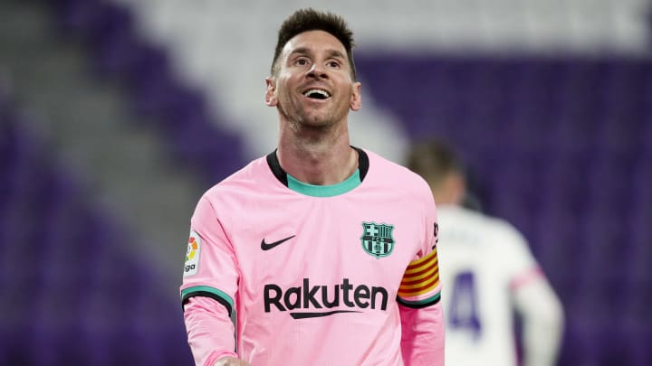 Messi's Barcelona contract expires in the summer