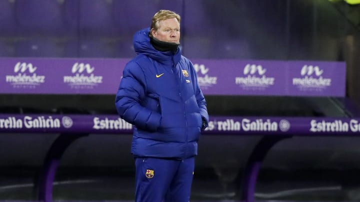 Ronald Koeman is giving up already