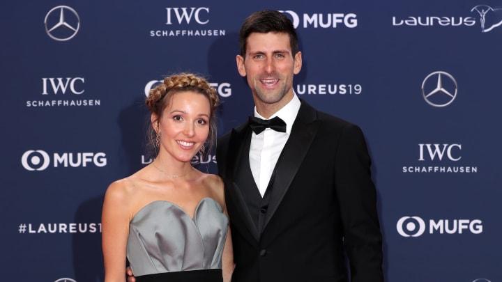 Novak y Jelena Djokovic están casados desde 2014
