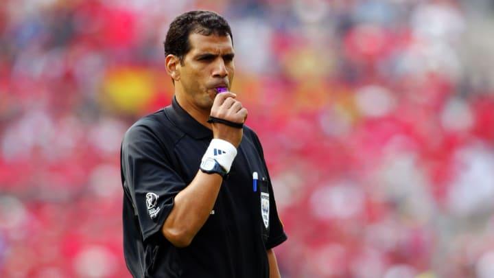 Referee Gamal Ghandour