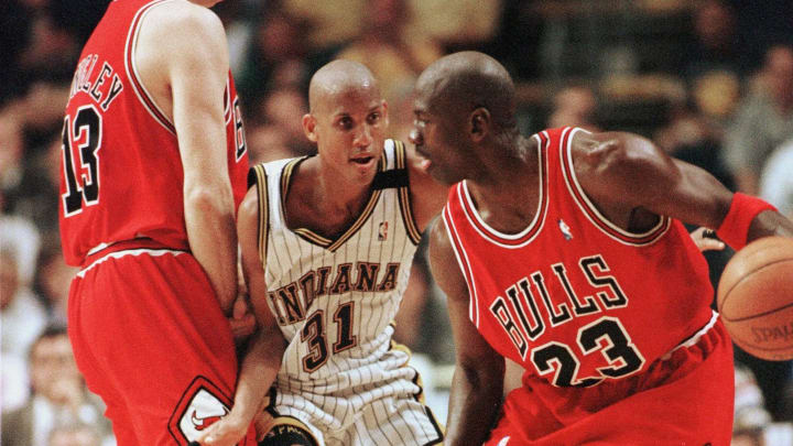 """The Last Dance"" doesn't mention Jordan's  beef with Reggie Miller"
