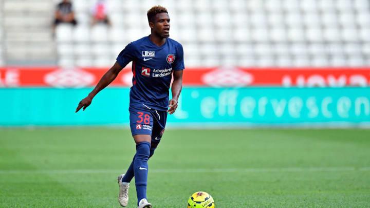Zentraler Mittelfeldspieler mit Offensivdrang: Frank Onyeka (22) vom FC Midtjylland