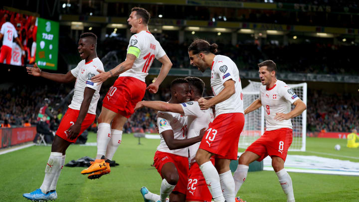 Switzerland reached Euro 2020 by winning Group D in qualifying