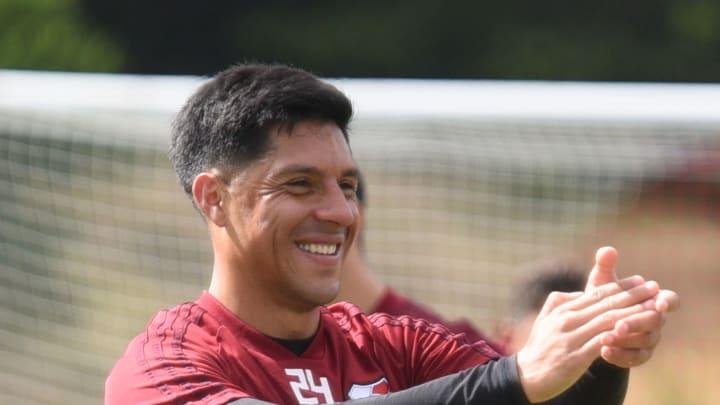 Enzo Pérez atajará para River en la Libertadores