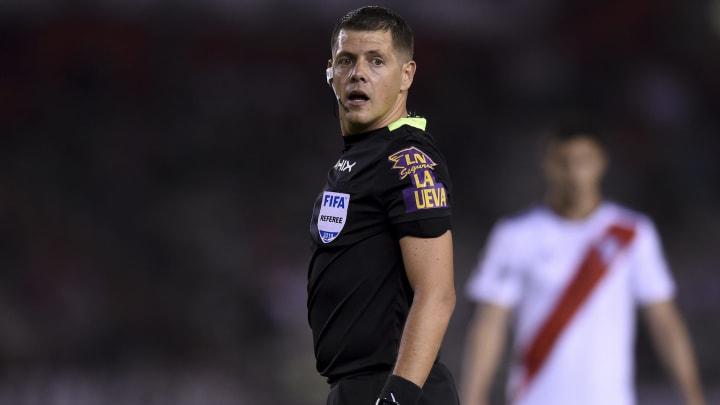 Germán Delfino será el árbitro de River - Banfield