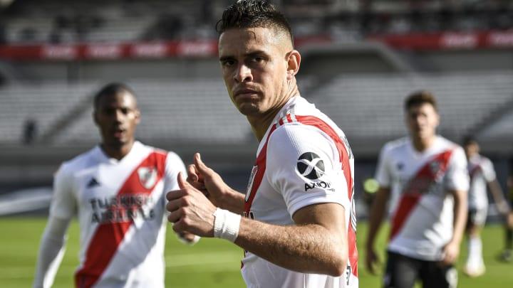 Rafael Santos Borré atraviesa un buen momento con River