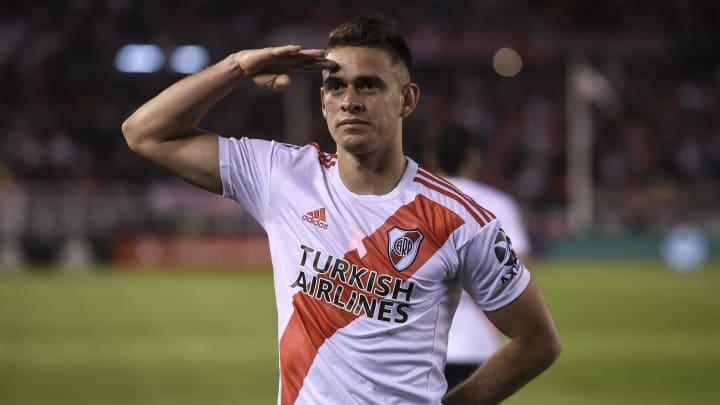 Rafael Santos Borre en River Plate