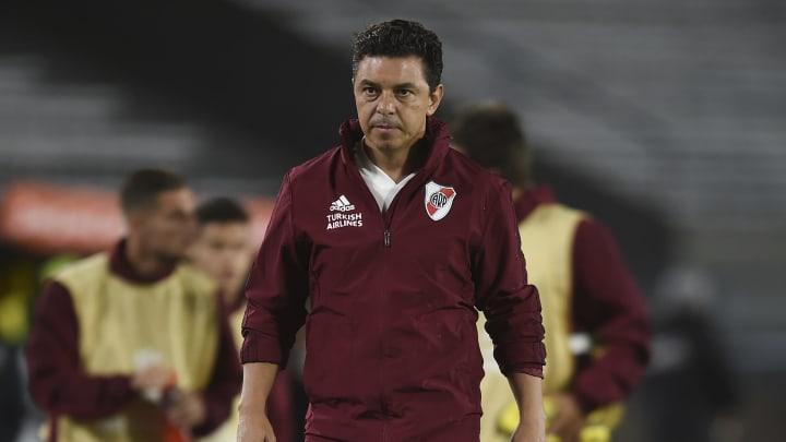 Marcelo Gallardo, el exitoso entrenador de River que quiere continuar por la senda ganadora.