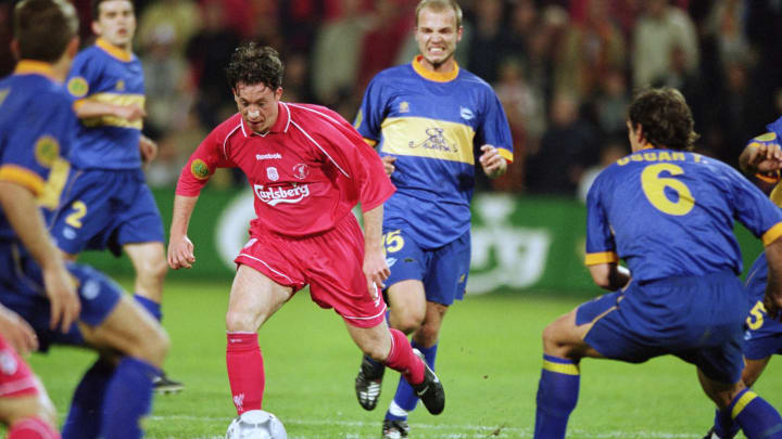 Robbie Fowler gewann mit Liverpool 2001 den UEFA-Cup