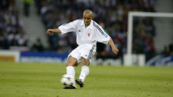 Roberto Carlos of Real Madrid