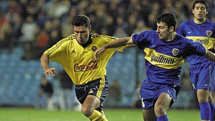 Boca vs América en Copa Libertadores 2000