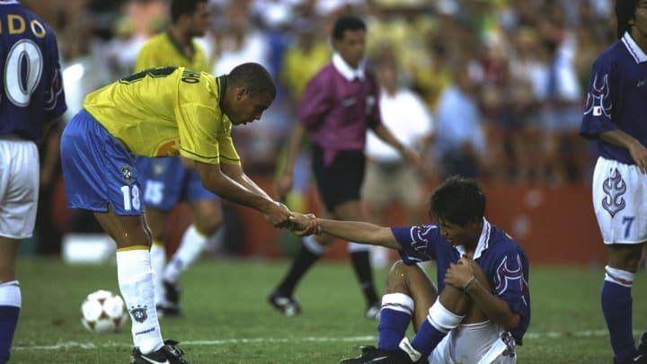 Ronaldo ainda era Ronaldinho quando defendeu o Brasil em Atlanta, 1996