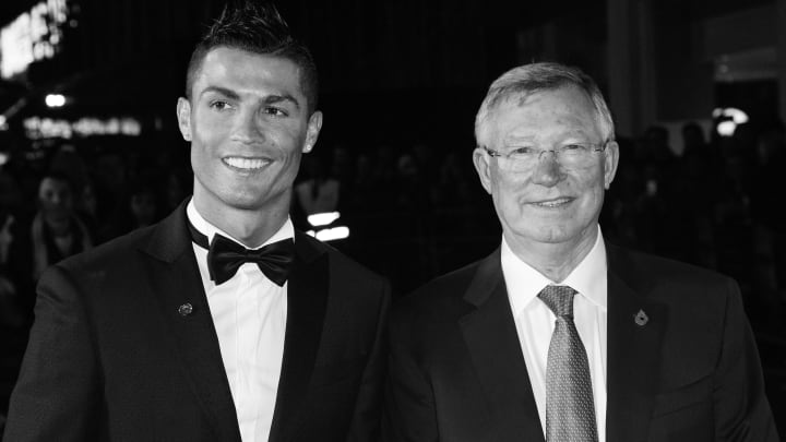 Cristiano Ronaldo greeted Sir Alex Ferguson like a father when they met after the Euro 2016 final