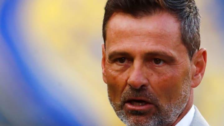 El entrenador Diego Cocca.