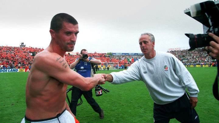Roy Keane, Mick McCarthy