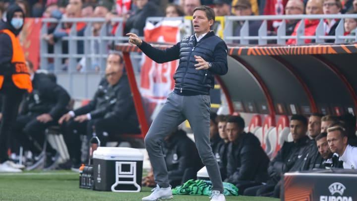 Oliver Glasner brauchte in Antwerpen gute Nerven