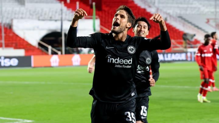 Goncalo Paciencia verwandelte den Last-Minute-Elfer