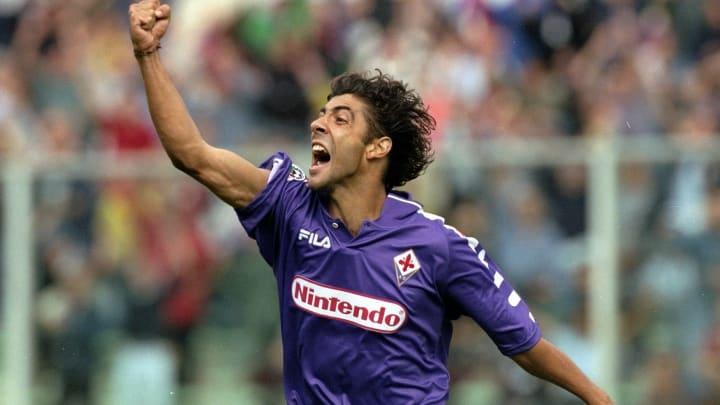 Rui Costa of Fiorentina celebrates