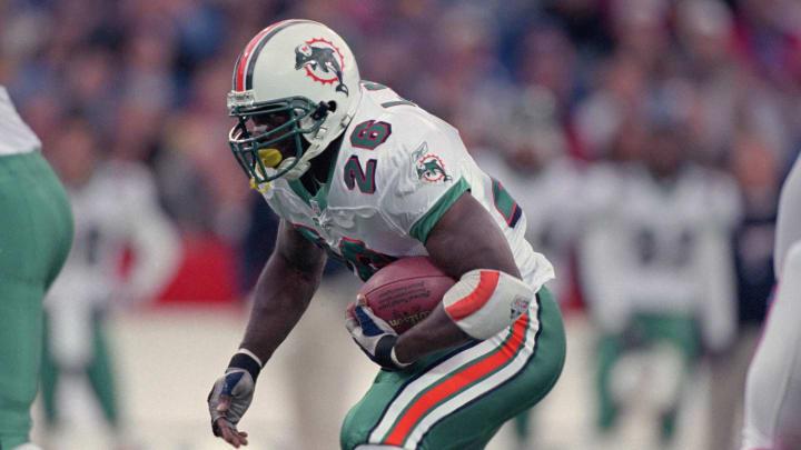 Lamar Smith had one good season with the Dolphins.