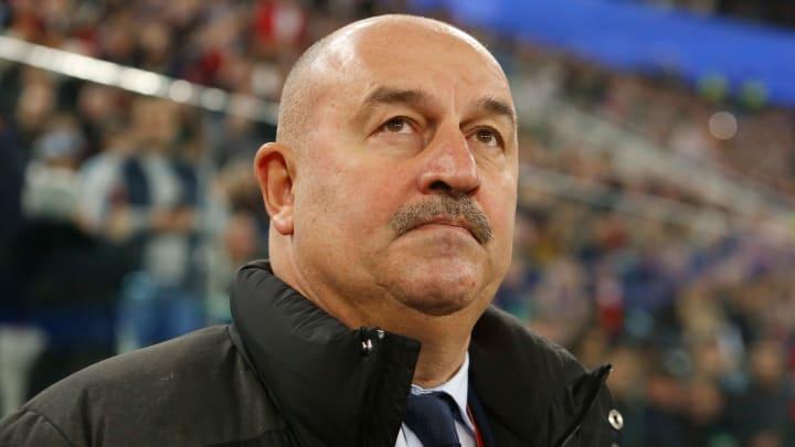 Russia manager Stanislav Cherchesov