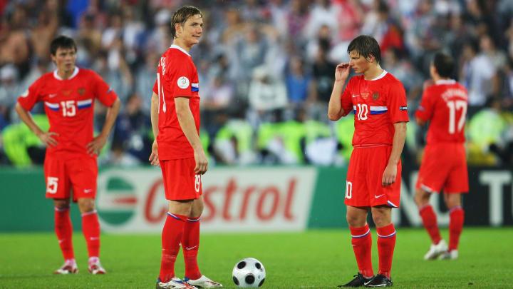 Russia v Spain - Euro 2008 Semi Final