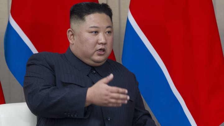 Kim Jong-un is rumoured to be a Manchester United fan
