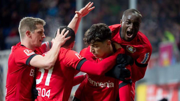 Vor einem Jahr fertigte Leverkusen Paderborn ab