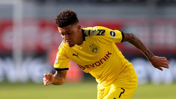 Jadon Sancho is among the favourites for the Golden Boy award