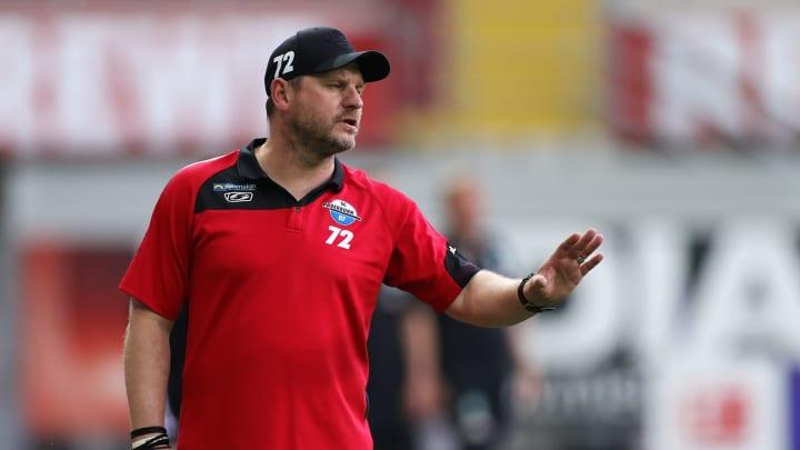 Kann zufrieden sein: SCP-Trainer Steffen Baumgart