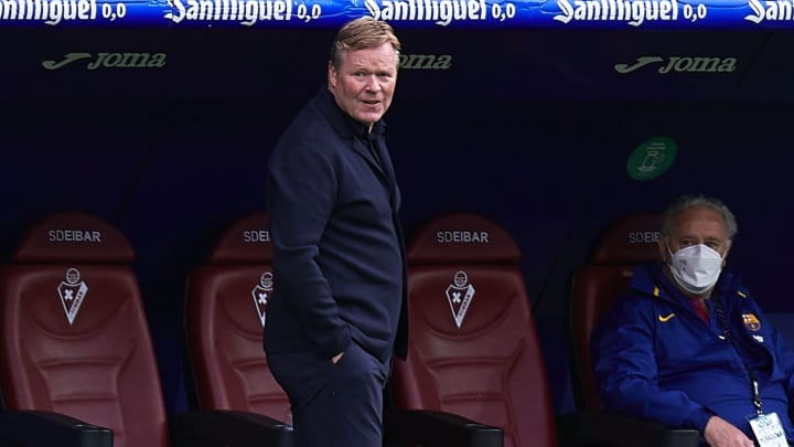 Barcelona have confirmed Ronald Koeman will stay in charge