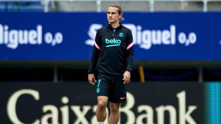 Griezmann está em baixa no Barcelona
