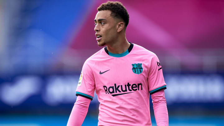Sergino Dest is the latest Barcelona player linked with an exit