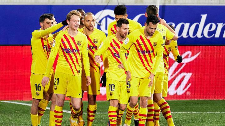 Los jugadores del Barça tendr´que hacerse pruebas PCR