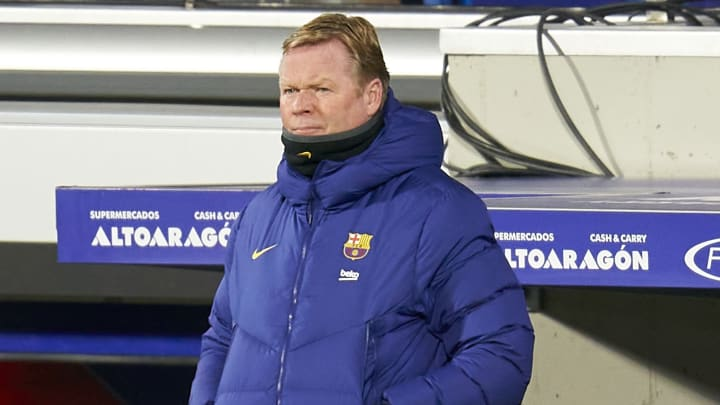 Ronald Koeman wants a 'number nine' to join Barcelona