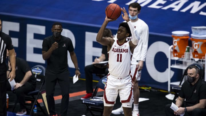 Joshua Primo - SEC Men's Basketball Tournament - Alabama v Mississippi State
