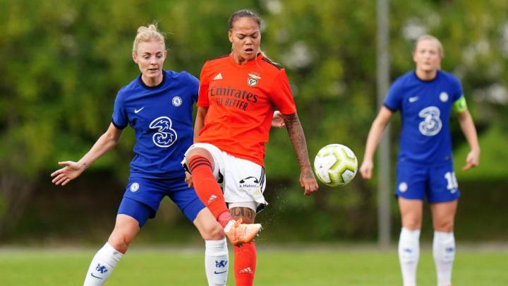 SL Benfica Women v Chelsea FC Women - UEFA Women's Champions League Round of 32 - First Leg